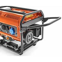 Генератор Husqvarna G 5500P 5,5 кВт, фото 2