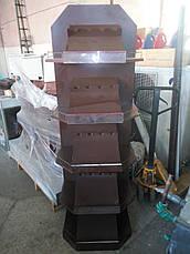 Стеллаж деревянный для вина, винный шкаф 180*60*42 см б/у, фото 3