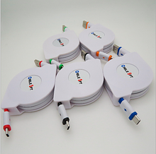Телескопический micro USB кабель «Cable 9 FT» 3 метра