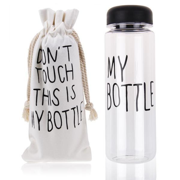 Бутылка MY BOTTLE (май ботл) для напитков с чехлом