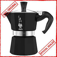 Гейзерная кофеварка Bialetti Moka color на 3 чашки 0004952