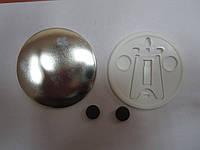 Значек-фоторамка полиграфическая закатная круглая 90мм (заготовка), фото 1
