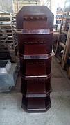 Б/у Стеллаж деревянный для вина, винный шкаф 180*60*42 см