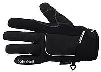 Велоперчатки зимние водонепроницаемые  Black