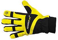 Зимние велоперчатки с подкладкой 3М изоляция. Желтый
