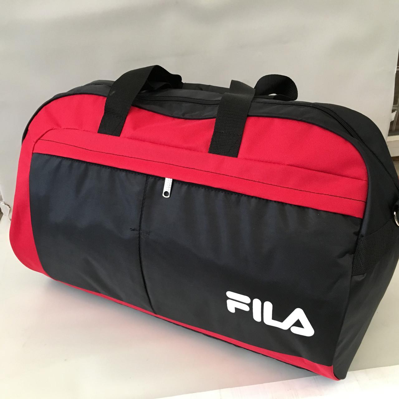 6456c52f75d7 Спортивная, дорожная качественная сумка FILA. Сумка в дорогу оптом ...