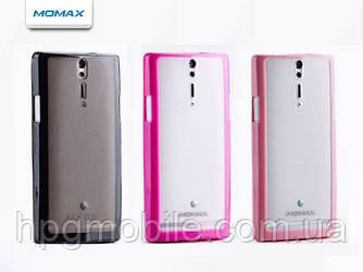 Чехол для SONY Xperia S LT26i - Momax iCase Pro, разные цвета