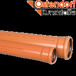 Труба наружная Ostendorf KG ПВХ SN4 Ø 110x1000 мм