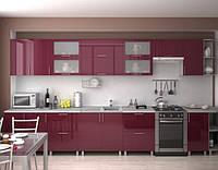 Бордовая кухня ViAnt всегда в моде -Киев, Ирпень, Буча