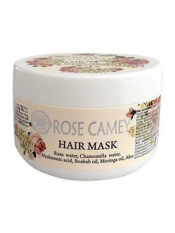 Маска для волос Rose Camey Bulgarian OrganiRose 300 мл, фото 2