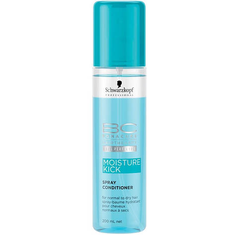 Спрей-кондиционер Schwarzkopf Professional BC Bonacure Hyaluronic Moisture Kick Spray Conditioner 200 ml, фото 2