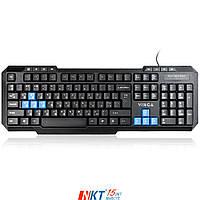 Клавиатура Vinga KBG125 Тип - игровая, проводная, конструкция - мембранная, интерфейс подключения -