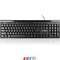 Клавиатура Vinga KB320BK Тип - проводная, конструкция - мембранная, интерфейс подключения - USB, цве