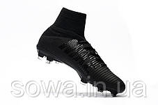 "✔️ Футбольные бутсы Nike Mercurial Superfly V DF-FG ""Black""  , фото 3"