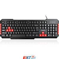 Клавиатура Vinga KBG120 Тип - игровая, проводная, конструкция - мембранная, интерфейс подключения -