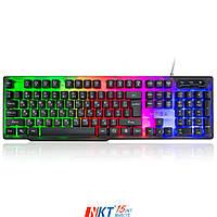 Клавиатура Vinga KB414 black Тип - мультимедийная, проводная, с подсветкой, конструкция - мембранная
