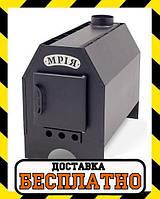 """Отопительная печь-буржуйка """"Мрія"""" 12 кВт 250м3"""