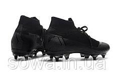 "✔️ Футбольные бутсы Nike Mercurial Superfly VI Elite SG AC ""Black""  , фото 2"