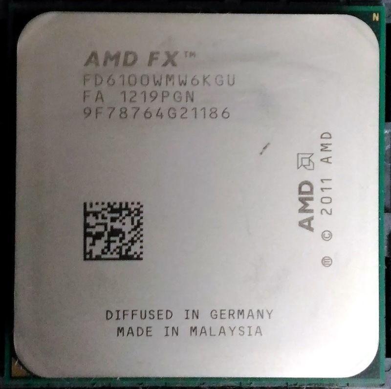 Процессор AMD FX-6100 3.3GHz/5200MHz/8MB (FD6100WMGUSBX) sAM3+