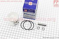 Поршень, кольца, палец к-кт Suzuki AD65/LETS 44мм STD синяя коробка (палец 10мм)
