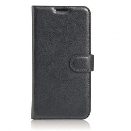 Чехол (книжка) Wallet с визитницей для Nokia 7.1 Черный