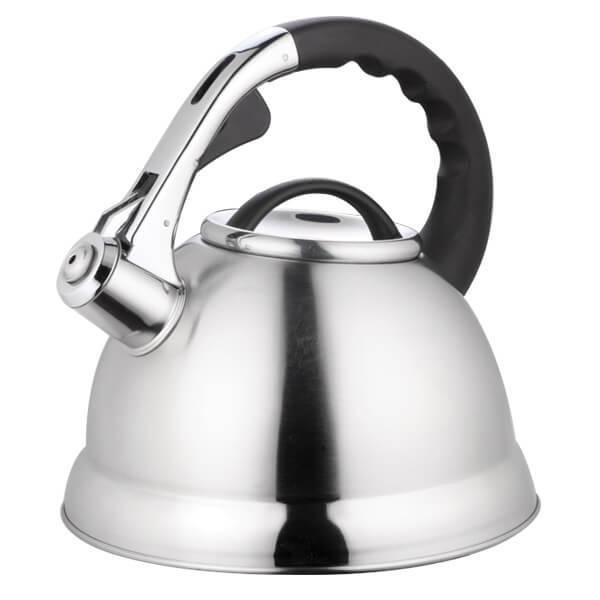 Чайник металлический со свистком 2,8л
