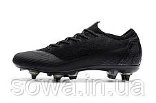 "✔️ Футбольные бутсы Nike Mercurial Vapor VII Elite ""Black""  , фото 2"