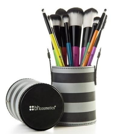 Кисти для макияжа BH Cosmetics 10 pc Pop Art Brush Set