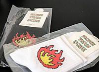 Низкие носки с огнем, фото 1