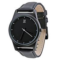 Часы Ziz Black в подарочной коробке на кожаном ремешке и доп. ремешок - 142754