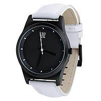 Часы Ziz Black в подарочной коробке на кожаном ремешке и доп. ремешок - 142755