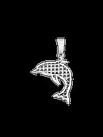 Подвес серебряный Дельфин