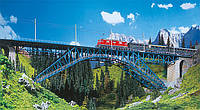 Faller 120535 Мост Арочный 2х путный  - Размером 1100мм x 115мм x 255мм / 1:87  , фото 1