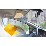 Антибликовый козырек для автомобиля Vision Viser HD солнцезащитный козырек, фото 4