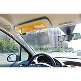 Антибликовый козырек для автомобиля Vision Viser HD солнцезащитный козырек, фото 3