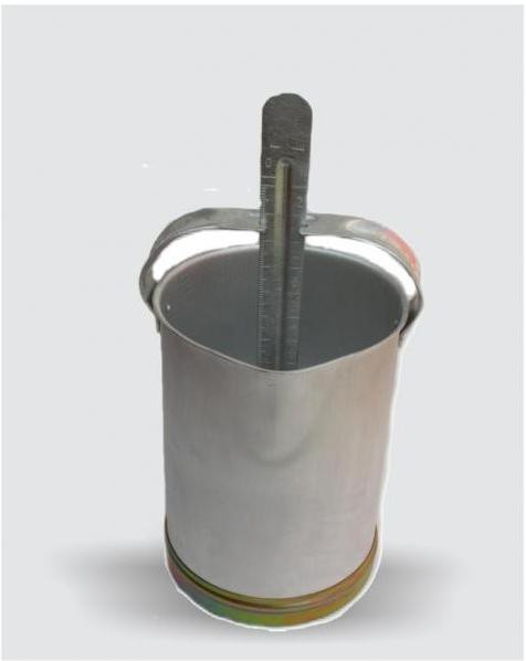 Молокомер алюминиевый (емкость 10 л.) производитель «ОАО ДЗ ВЕТЗООТЕХНИКА», Россия