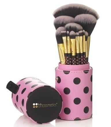 Кисті для макіяжу BH Cosmetics 11 pc Pink-A-Dot Brush Set