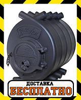 "Печь булерьян Bullerjan ""ВИТ"" Тип-04, 35 кВт-1000 м3. Чугунная дверца"