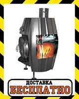 """Печь калорифер Bullerjan """"ВИТ"""" Б-25, 15 кВт-550 м3. Чугунная дверца, фото 1"""