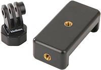 Головка-держатель Velbon M-kit (Smart Phone Holder + Action Cam Adapter)