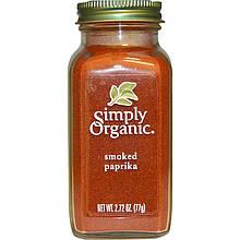 """Копченая паприка Simply Organic """"Smoked Paprika"""" органическая (77 г)"""