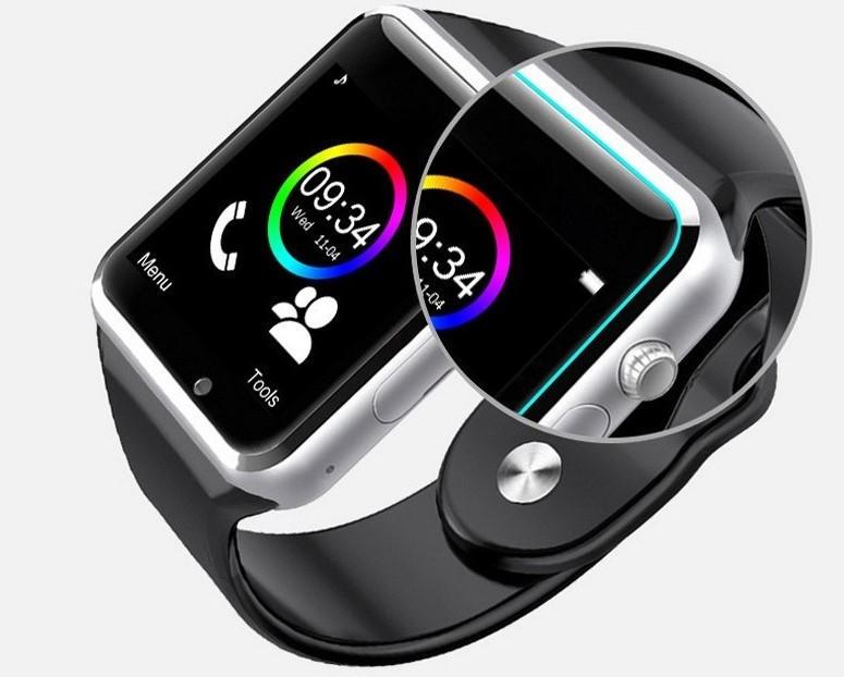 Умные часы Smart Watch A1 Серебристый