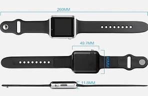 Умные часы Smart Watch A1 Серебристый, фото 2