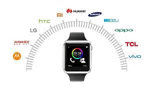 Умные часы Smart Watch A1 Серебристый, фото 3