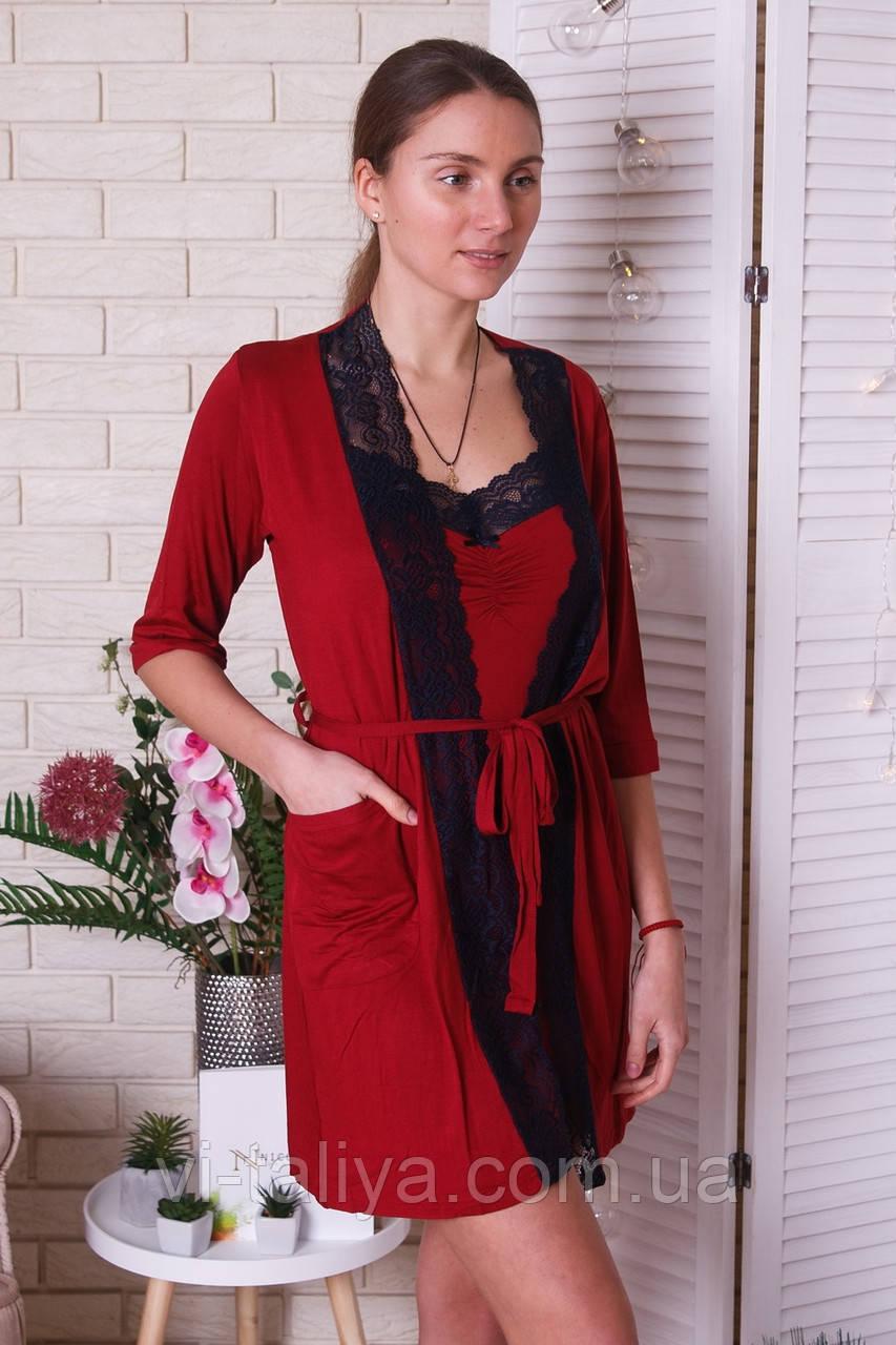 cebb7cb93b93 Женский халат для дома и отдыха Nicoletta - интернет-магазин vi-taliya.com