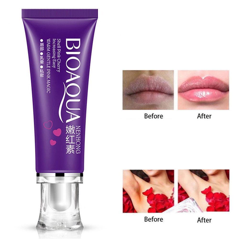 Крем отбеливающий для лица и тела BIOAQUA PINK PRIVATES( для губ, локтей, подмышек ) 30g