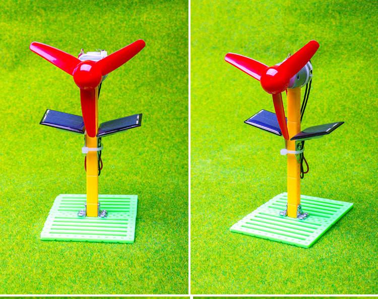 """Развивающий конструктор """"Вентилятор на солнечной энергии"""" (научный конструктор, научная сборная модель) 163119"""