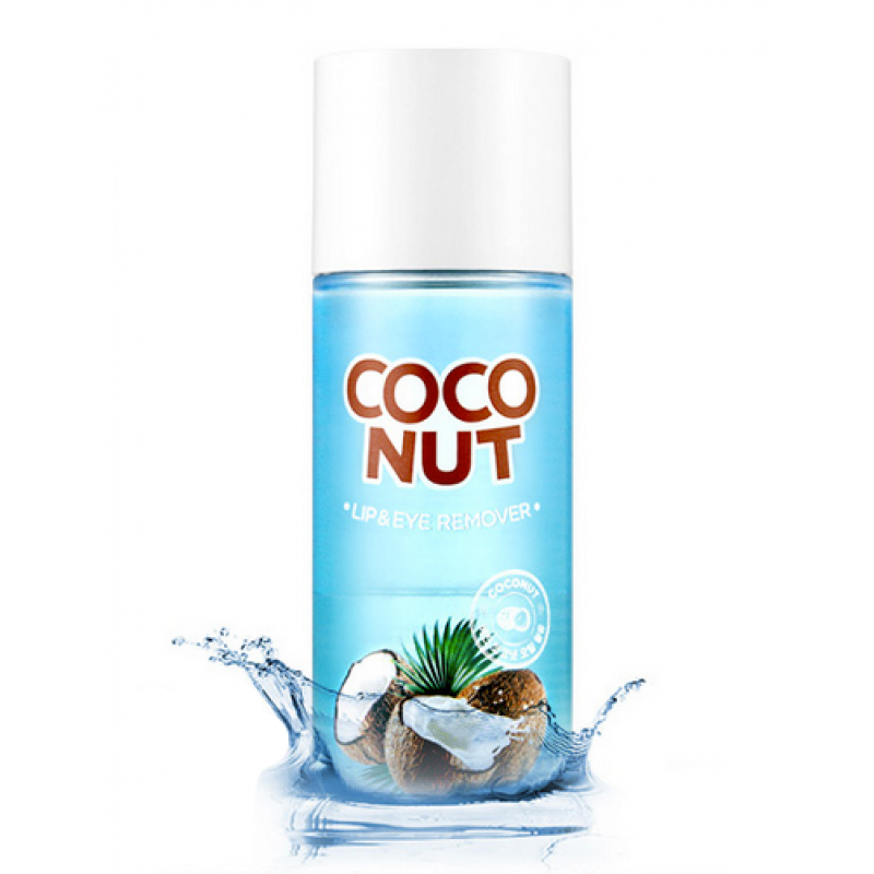 Двухфазный Ремувер Для Макияжа Scinic Coconut Lip & Eye Remover
