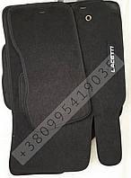 Ворсовые коврики Chevrolet Lacetty - эконом - черные