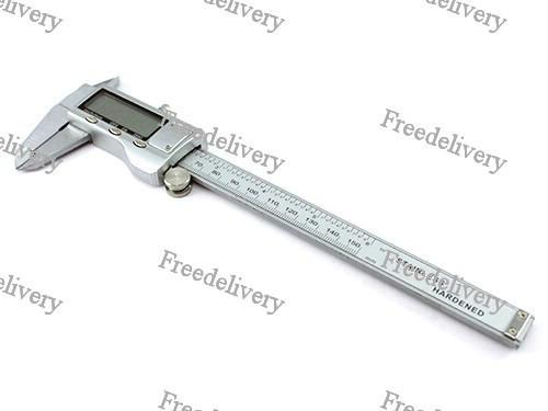 Штангенциркуль цифровой электронный 150мм 0.01 мм в футляре, металл